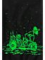 Little Boys' Long Sleeve Glow In The Dark Graphic Tee