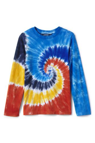 Batik-Langarmshirt für Baby Jungen