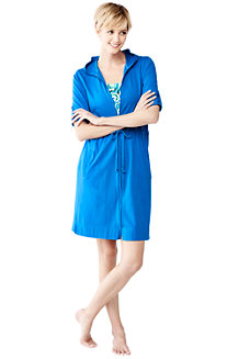 Women's Cotton Hooded Cover-up