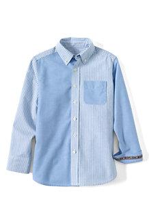 Colorblock-Oxfordhemd für Jungen