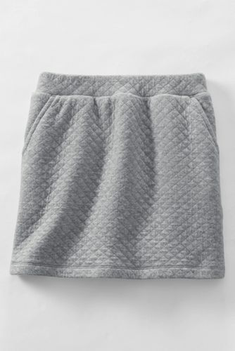 Girls' Quilted Pull on Skort