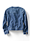 Little Girls' Crew Neck Denim Jacket