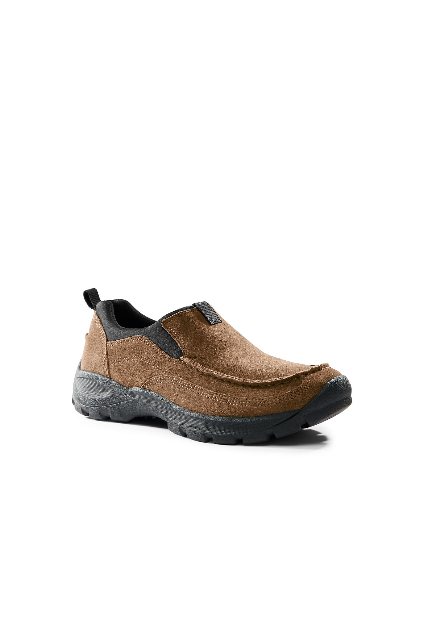 Men's All Weather Leather Slip On Moc Shoes