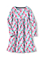 Little Girls' Square Neck Gathered Dress