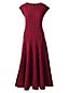 Women's Regular Printed Ponte Jersey Flounce Skirt Dress
