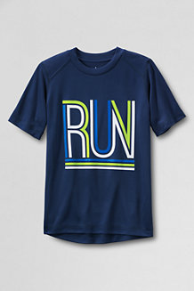 Boys' Short Sleeve Graphic Active Tee