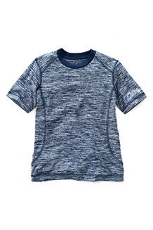 Boys' Short Sleeve Space Dye Active Tee
