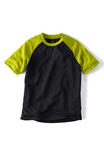 Le T-shirt Action Manches Raglan Courtes Petit Garçon