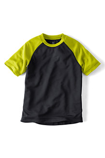Boys' Short Sleeve Raglan Active Tee