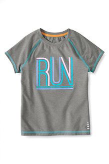Girls' Short Sleeve Graphic Performance Tee