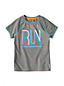 Little Girls' Short Sleeve Graphic Performance Tee