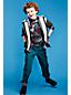 Little Boys' Camo Print Raglan Super-T