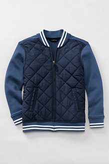 Boys' Quilted Baseball Jacket