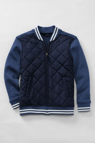 Little Boys' Quilted Baseball Jacket