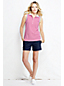 Women's Regular Sleeveless Piqué Polo