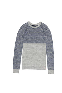 Men's Colourblock Stripe Mariner Sweater Tee
