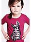 Leggingsshirt mit Rüschensaum für kleine Mädchen