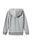 Toddler Girls' Patterned Sherpa Hoodie