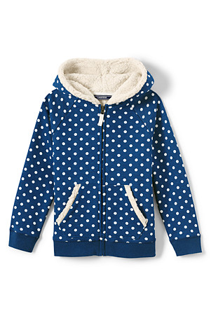 Clothing, Shoes & Accessories Lands End Fleece Lined Hooded Girls Pink Jacket Coat Size 2t Discounts Sale