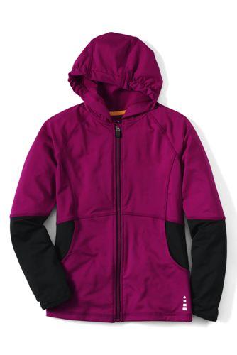 Activewear Kapuzenjacke für kleine Mädchen