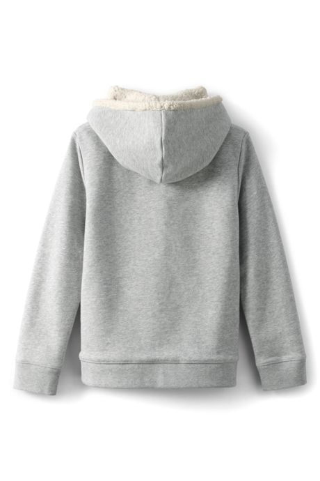 Little Girls Sherpa Lined Hoodie
