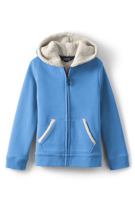 Toddler Girls Sherpa Lined Hoodie