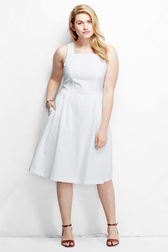 100 Cotton Plus Size Dresses
