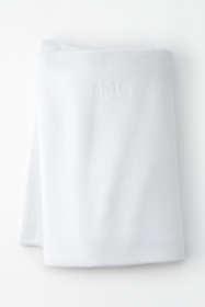 Cotton Seed Stitch Blanket