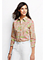 Women's Three Quarter Sleeve Non Iron Patterned Shirt