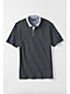 Men's Regular Woven Collar Supima® Piqué Polo