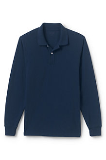 Men's Long Sleeve Piqué Polo Shirt