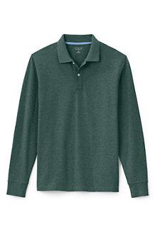 Men's Long Sleeve Piqué Polo