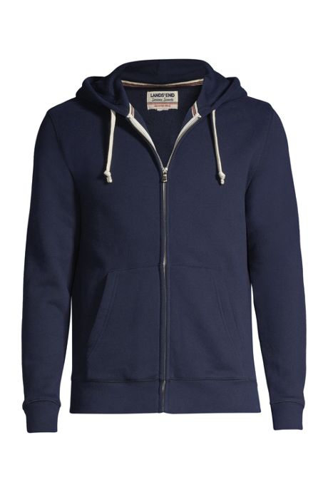 Men's Serious Sweats Sport Fleece Zip Hooded Jacket
