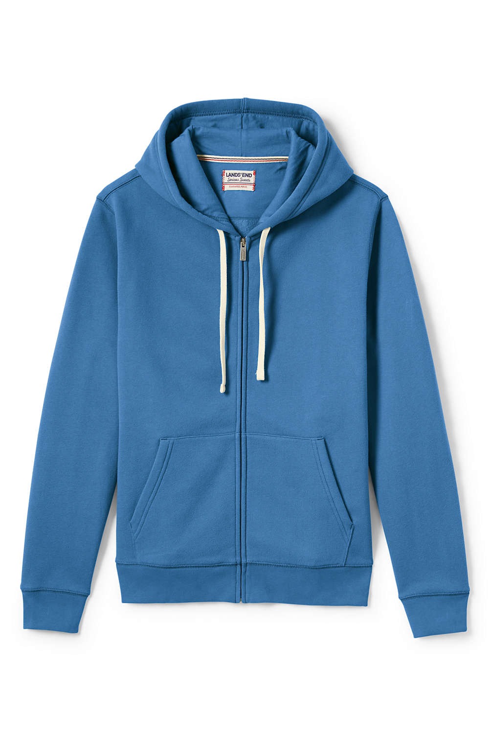 a99dd9cf6880 Men s Serious Sweats Full Zip Hoodie from Lands  End