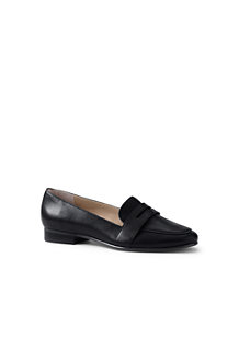 Women's Leather Penny Loafers