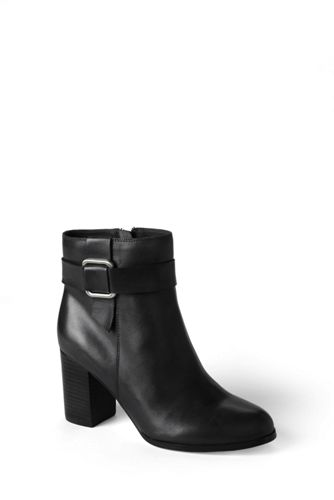 Women's Regular Heeled Ankle Boots