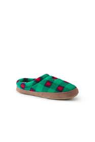 Women's Christmas Fleece Clog House Slippers