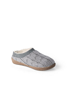 Women's  Cable Knit Slippers