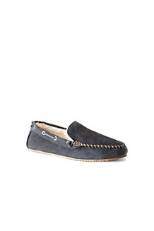 Men's Suede Moccasin Slippers
