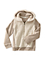 Little Girls' Hoodie with Sherpa Body
