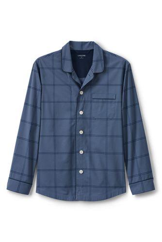 Pyjamahemd aus Baumwolltuch für Herren, Classic Fit