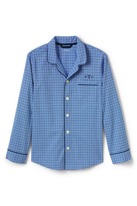 Men's Tall Broadcloth Pajama Shirt