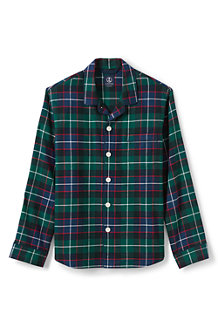 Men's Flannel PJ Shirt