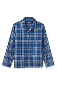 Men's Flannel Pajama Shirt