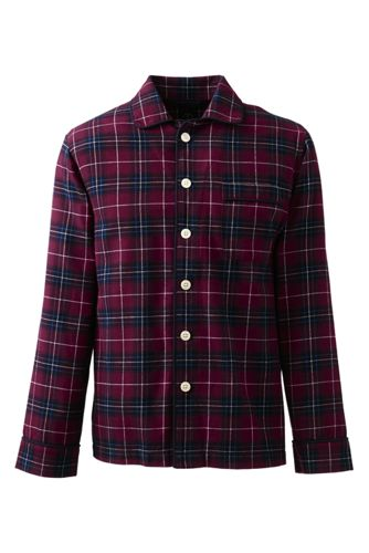 Men's Regular Flannel PJ Shirt