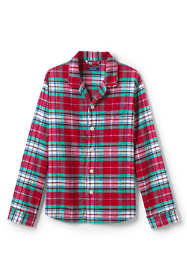Men's Flannel Pajama Shirt