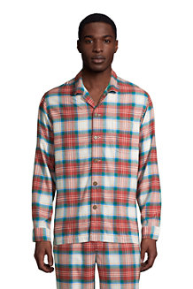 Flanell-Pyjamahemd für Herren