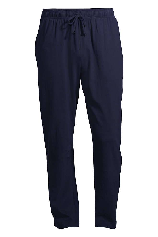 Men's Knit Jersey Sleep Pants, Front