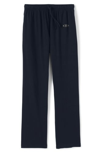 Mens Trousers with Elastic Waist - 28-30 Lands End