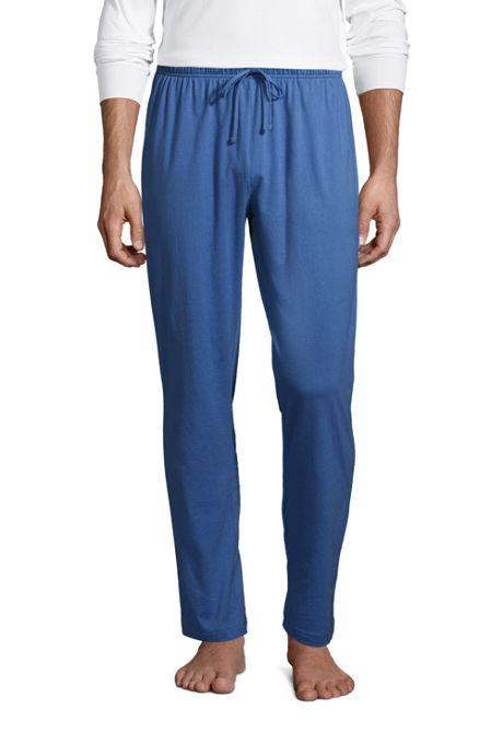 Men's Big and Tall Knit Jersey Sleep Pants